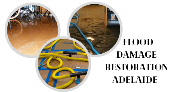 Flood Water Damage Restoration Adelaide