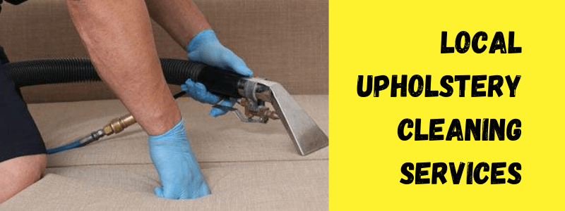 Local Upholstery Cleaning Services
